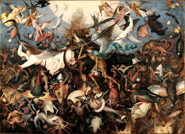 Brueghel: Pád andělů
